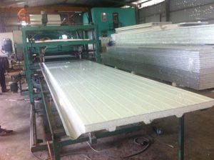 Hệ thống tự động sản xuất panel xốp cách nhiệt