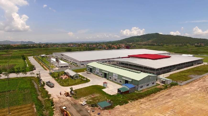 Nhà máy sản xuất tấm panel xốp Thế Long
