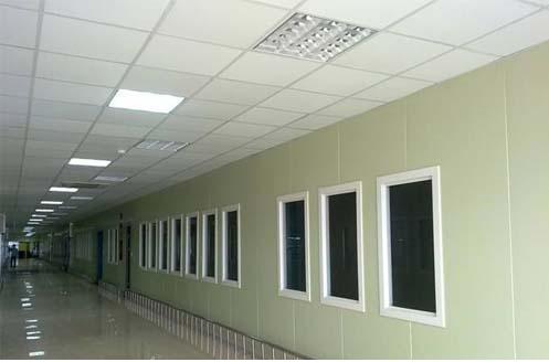 Ứng dụng tấm panel cách nhiệt thi công phòng sạch