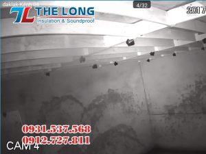 Hệ thống camera quan sát giúp kiểm soát, quan sát sự biến động, hoạt động đàn yến.