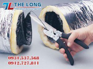 Kéo cắt ống gió mềm cách nhiệt chuyên dụng