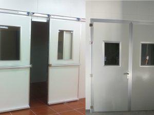 Lắp đặt cửa panel kho lạnh