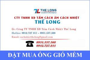 Liên hệ đặt mua ống gió mềm cách nhiệt Hồ Chí Minh