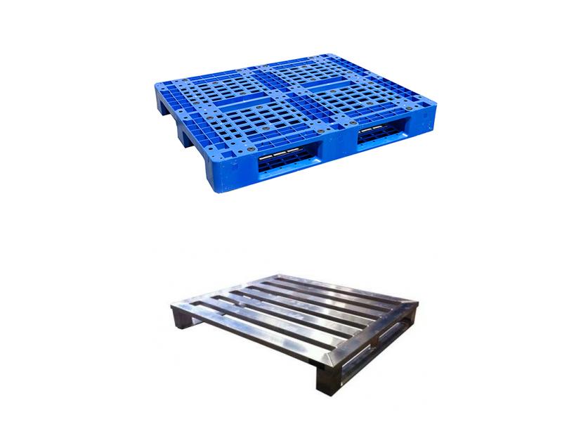 Pallet nhựa hoặc inbox sử dụng trong kho lạnh