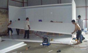 Phân loại tấm panel xốp cách nhiệt thi công kho lạnh