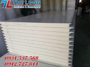 Tấm panel cách nhiệt là một trong những vật liệu cốt lõi trong các vật liệu dùng trong thi công kho lạnh