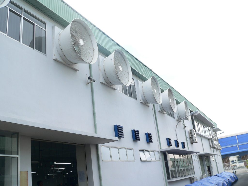 Ứng dụng Ống Gió Mềm Cách Nhiệt thi công hệ thống thông gió