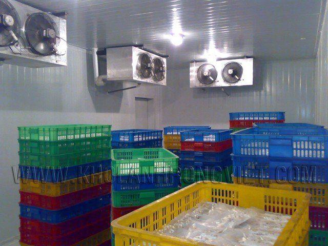 Ứng dụng Tấm Panel Cách Nhiệt Kho Lạnh Làm kho bảo quản thực phẩm, rau cũ quả