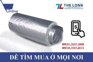 Lợi ích ống gió mềm cách nhiệt dễ tìm mua