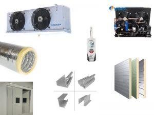 Các vật liệu dùng trong thi công kho lạnh