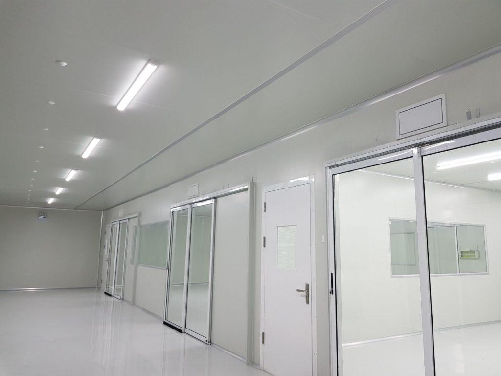 Thi công phòng sạch chất lượng cao