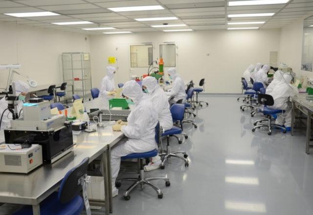 Ứng dụng phòng sạch vào sản xuất điện tử, bo mạch