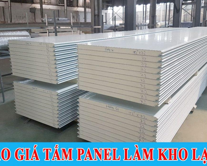Báo giá Tấm panel làm kho lạnh Công ty Thế Long