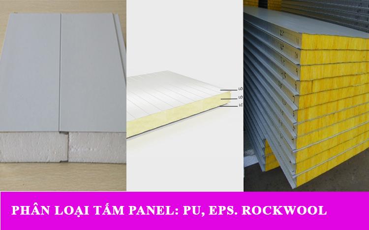 Phân loại tấm panel trong xây dựng