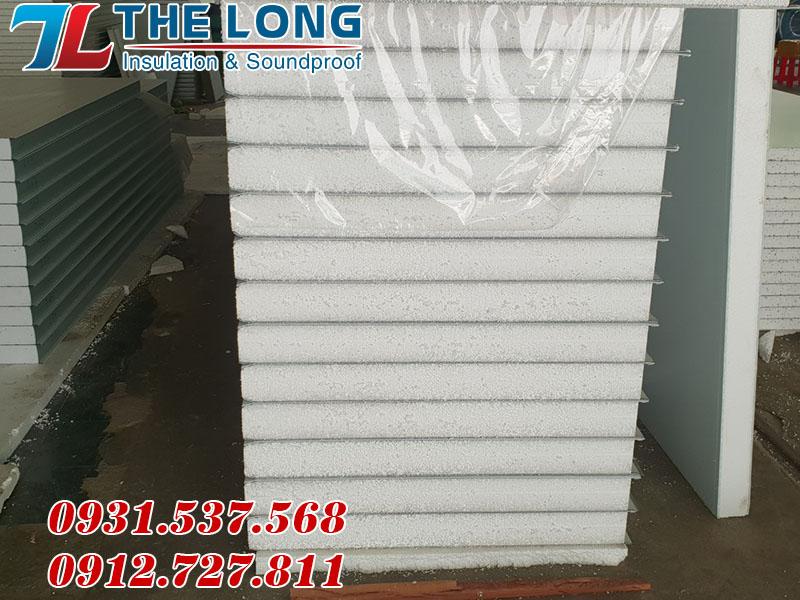 Tấm Panel pu kho lạnh Thế Long Hồ Chí Minh