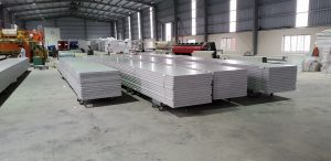 Ứng dụng tấm panel kho lạnh thi công nhiều công trình.