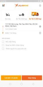 Vận chuyển tấm panel làm kho lạnh bằng lalamove Khu vực Hồ Chí Minh rất tiện lợi.