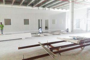 Thi công phòng sạch hoàn thiện cho Công ty TNHH Một Thành Viên Thuốc Lá Sài Gòn