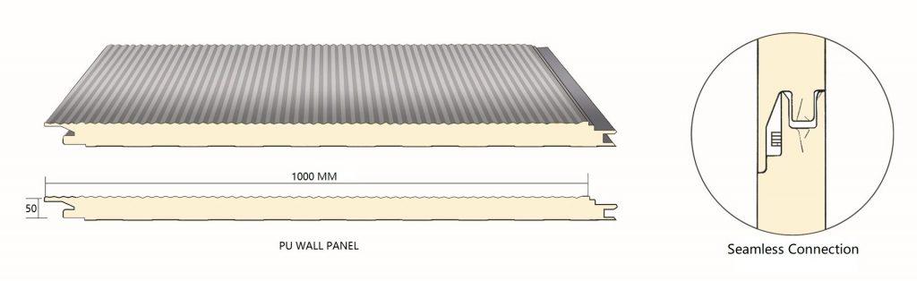 Cấu tạo tấm panel xốp cách nhiệt Thế Long