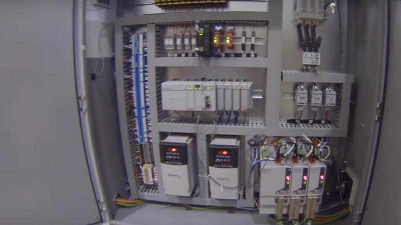 Hệ thống điều khiển tự động máy CNC lập trình cắt tự động bông khoáng rockwool