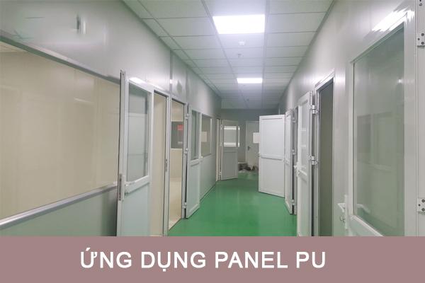 Ứng dụng panel pu làm vách phòng sạch